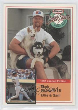 1993 Milk-Bone Super Stars Dog Food Issue [Base] #4 - Mark McGwire