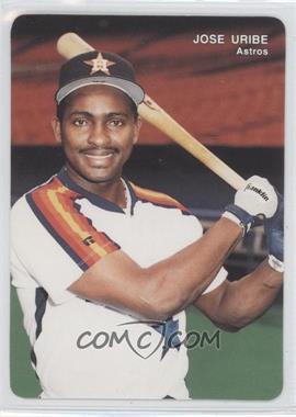 1993 Mother's Cookies Houston Astros Stadium Giveaway [Base] #12 - Jose Uribe
