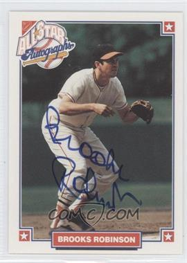 1993 Nabisco All-Star Autographs [Autographed] #BRRO - Brooks Robinson
