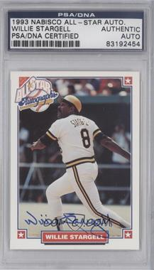 1993 Nabisco All-Star Autographs [Autographed] #N/A - Willie Stargell [PSA/DNA Certified Auto]