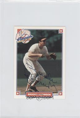 1993 Nabisco All-Star Autographs [Autographed] #NoN - Brooks Robinson