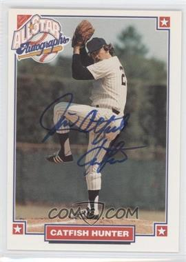 1993 Nabisco All-Star Autographs [Autographed] #NoN - Catfish Hunter