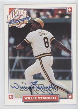 1993 Nabisco All-Star Autographs [Autographed] #NoN - Willie Stargell
