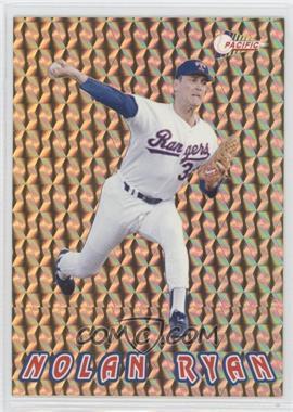 1993 Pacific Nolan Ryan Texas Express 27 Seasons - Prisms - Gold #13 - Nolan Ryan