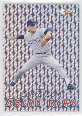 1993 Pacific Nolan Ryan Texas Express 27 Seasons - Prisms #18 - Nolan Ryan