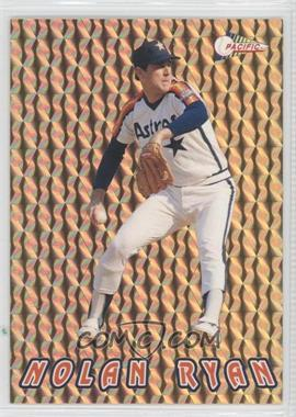 1993 Pacific Nolan Ryan Texas Express 27 Seasons Prisms Gold #8 - Nolan Ryan