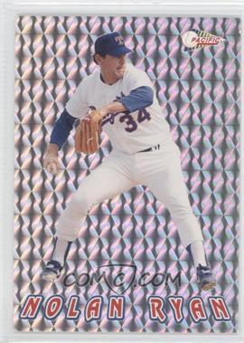 1993 Pacific Nolan Ryan Texas Express 27 Seasons Prisms #10 - Nolan Ryan