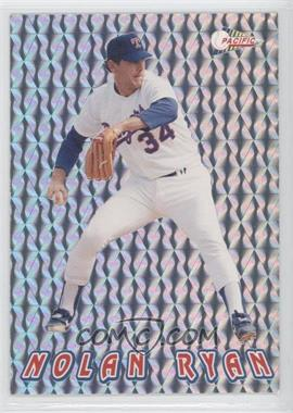 1993 Pacific Nolan Ryan Texas Express 27 Seasons Prisms #10 - Nolan Ryan