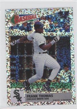 1993 Panini Album Stickers - [Base] #136 - Frank Thomas