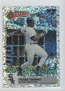 1993 Panini Album Stickers #136 - Frank Thomas