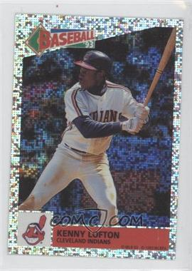 1993 Panini Album Stickers #53 - Kenny Lofton