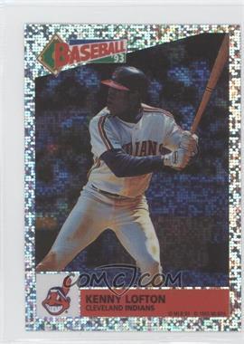 1993 Panini Album Stickers #53 - Kenny Lofton