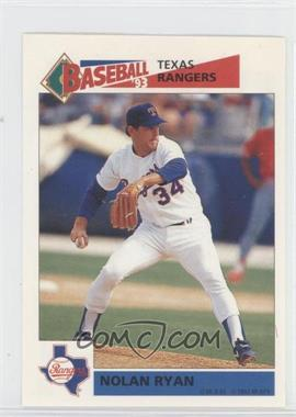 1993 Panini Album Stickers #87 - Nolan Ryan