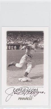 1993 Pinnacle Joe DiMaggio - Collector's Tin Autographs - [Autographed] #3 - Joe DiMaggio /1800