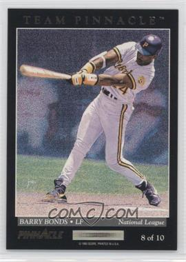 1993 Pinnacle Team Pinnacle #8 - Juan Gonzalez, Barry Bonds