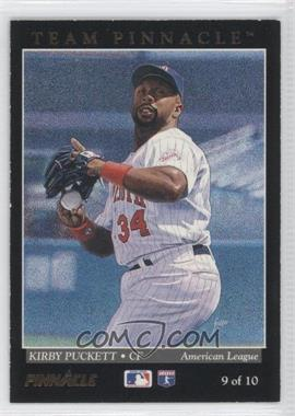 1993 Pinnacle Team Pinnacle #9 - Kirby Puckett, Andy Van Slyke