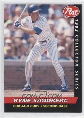 1993 Post - Food Issue [Base] #13 - Ryne Sandberg
