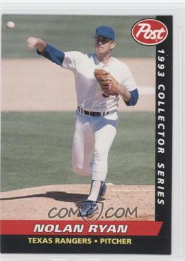 1993 Post - Food Issue [Base] #20 - Nolan Ryan