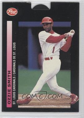 1993 Post Canadian Pop-Ups Food Issue [Base] #17 - Ozzie Smith