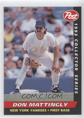 1993 Post Food Issue [Base] #12 - Don Mattingly