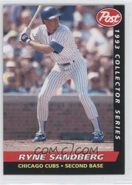 1993 Post Food Issue [Base] #13 - Ryne Sandberg
