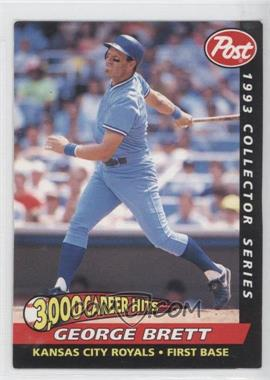 1993 Post Food Issue [Base] #25 - George Brett