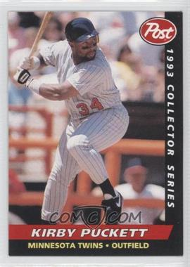 1993 Post Food Issue [Base] #3 - Kirby Puckett