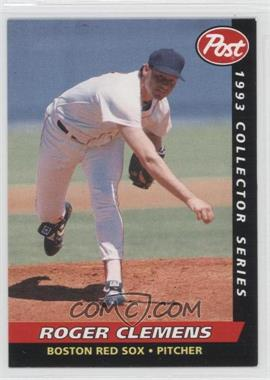 1993 Post Food Issue [Base] #4 - Roger Clemens