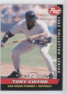 1993 Post Food Issue [Base] #8 - Tony Gwynn