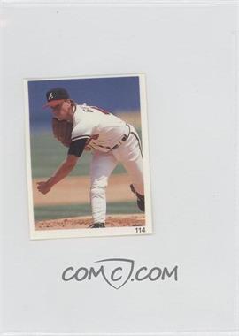 1993 Red Foley's Best Baseball Book Ever Stickers - [Base] #114 - Tom Glavine