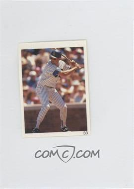 1993 Red Foley's Best Baseball Book Ever Stickers #33 - [Missing]