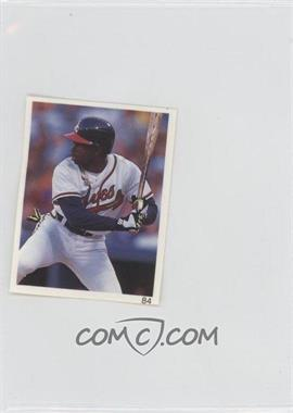 1993 Red Foley's Best Baseball Book Ever Stickers #84 - [Missing]