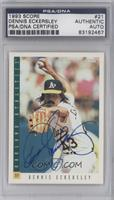 Dennis Eckersley [PSA/DNA Certified Auto]