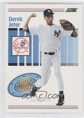 1993 Score #489 - Derek Jeter