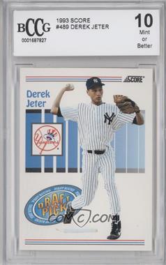 1993 Score #489 - Derek Jeter [ENCASED]