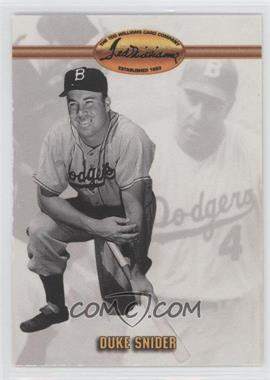 1993 Ted Williams Card Company - [Base] #16 - Duke Snider