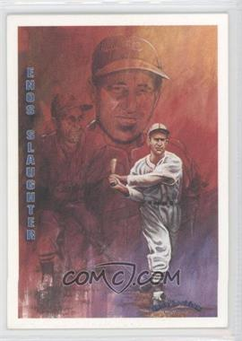 1993 Ted Williams Card Company Gene Locklear Collection #LC7 - Enos Slaughter