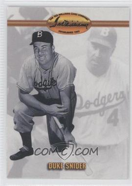 1993 Ted Williams Card Company #16 - Duke Snider