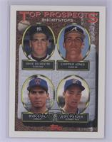 Dave Silvestri, Chipper Jones, Benji Gil, Jeff Patzke [Mint]