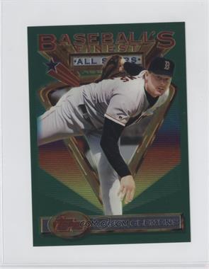 1993 Topps Finest - [Base] - Jumbo #104 - Roger Clemens