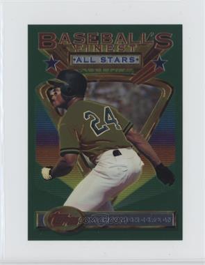 1993 Topps Finest - [Base] - Jumbo #86 - Rickey Henderson