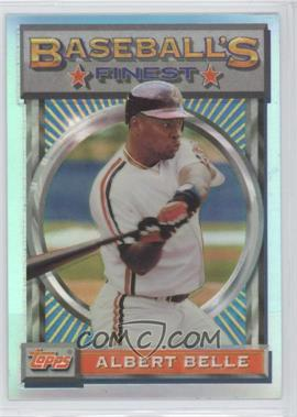 1993 Topps Finest - [Base] - Refractor #16 - Albert Belle