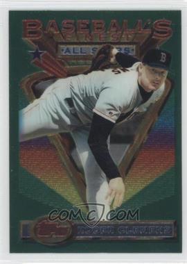 1993 Topps Finest - [Base] #104 - Roger Clemens