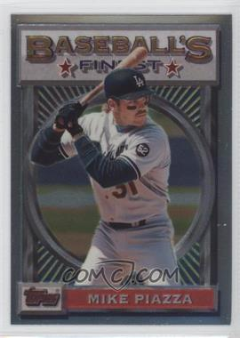 1993 Topps Finest - [Base] #199 - Mike Piazza