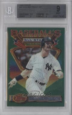 1993 Topps Finest - [Base] #98 - Don Mattingly [BGS 9]