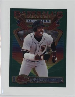 1993 Topps Finest Jumbo #103 - Barry Bonds