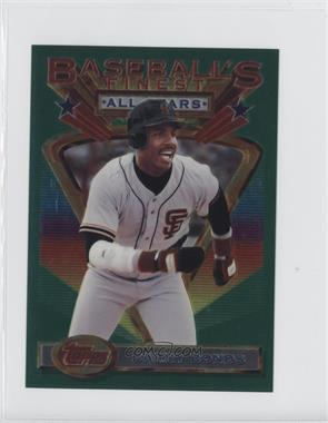 1993 Topps Finest Jumbo #103 - Barry Bonds