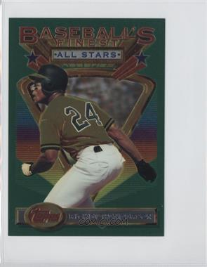 1993 Topps Finest Jumbo #86 - Rickey Henderson