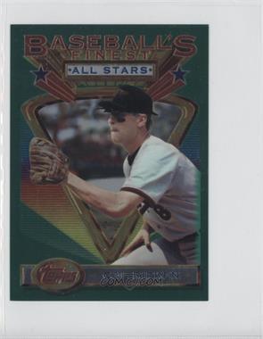 1993 Topps Finest Jumbo #96 - Cal Ripken Jr.