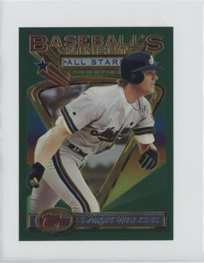 1993 Topps Finest Jumbo #97 - Larry Walker